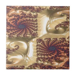 Even Circumstance Fractal Ceramic Tile