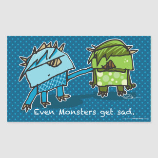 Even Monsters Get Sad stickers