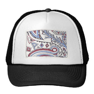 even more april doodles mesh hat