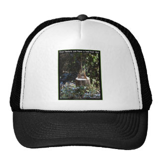Even Nature Can Have A Bad Hair Day! Gifts Apparel Trucker Hat
