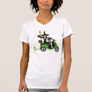 Even Witches Go Green Tee Shirt