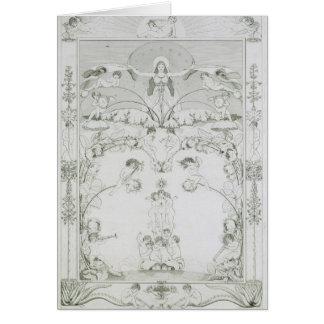 Evening, 1805 card