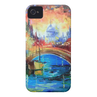 Evening Amsterdam iPhone 4 Cover