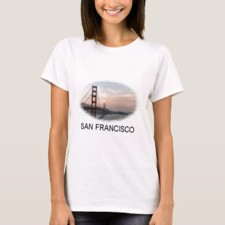 Evening at Golden Gate Bridge T-Shirt