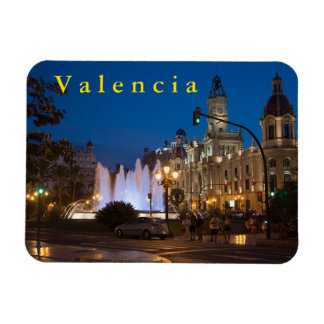 """Evening at the """"Administration Area"""" in Valencia. Magnet"""