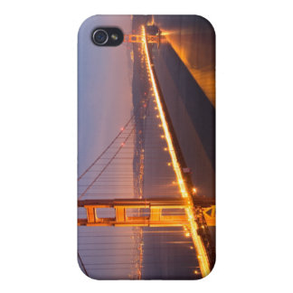 Evening at the Golden Gate Bridge Covers For iPhone 4