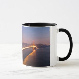 Evening at the Golden Gate Bridge mug