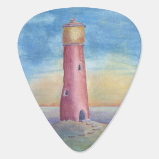 Evening at the lighthouse plectrum