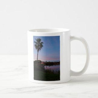 Evening By The Palm Tree Coffee Mug