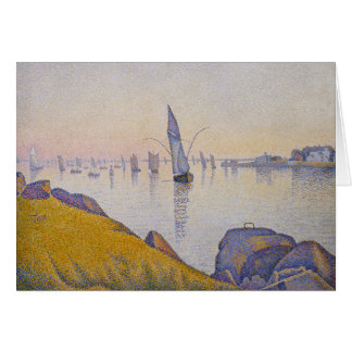 Evening Calm, Concarneau Card