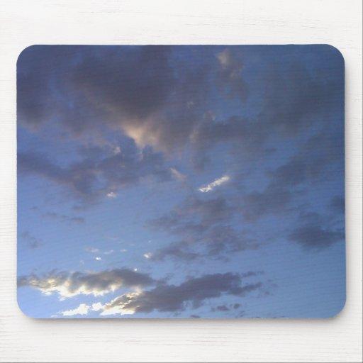 Evening Clouds Mousepads
