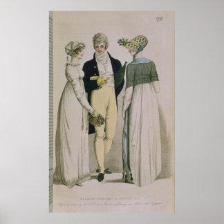 Evening Dresses for illustration Poster