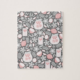 Evening Glass of Pink Lemonade Jigsaw Puzzle