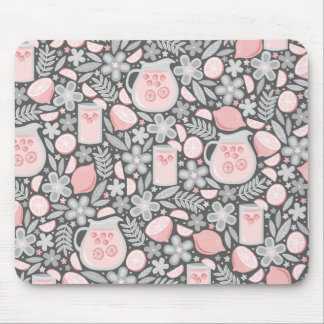 Evening Glass of Pink Lemonade Mouse Pad