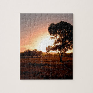 Evening Gold Jigsaw Puzzle