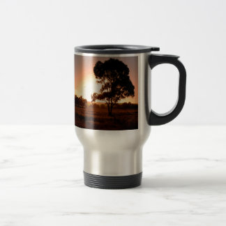 Evening Gold Travel Mug