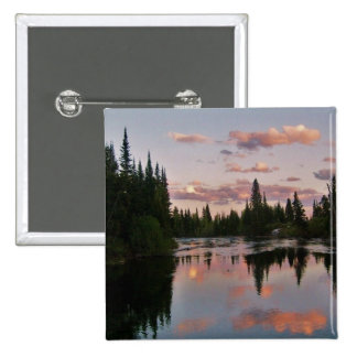 Evening in the Tetons Pinback Button