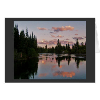 Evening in the Tetons Card