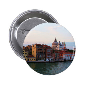 Evening in Venice, Italy 6 Cm Round Badge