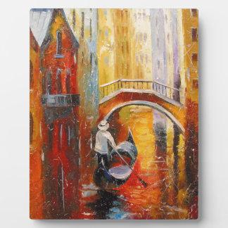 Evening in Venice Plaque
