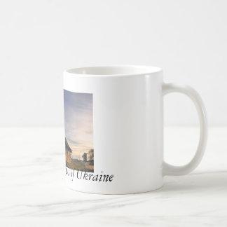 Evening in Vitachiv Basic White Mug