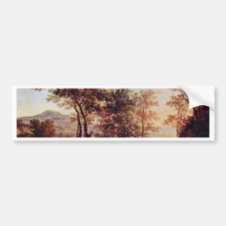 Evening Landscape By Both Jan Bumper Sticker