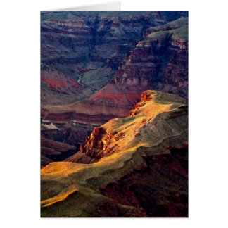 EVENING LIGHT IN GRAND CANYON NATIONAL PARK CARD