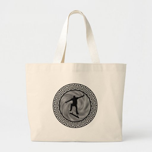 EVENING OF SKATEBOARDING TOTE BAGS