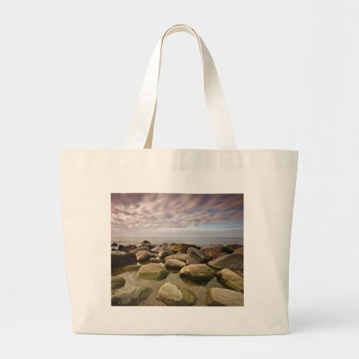 Evening on shore of the Baltic Sea Tote Bag