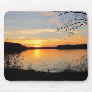 Evening Reflections Mouse Pad