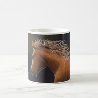 """Evening Run"" Quarter Horse - Coffee Mug"