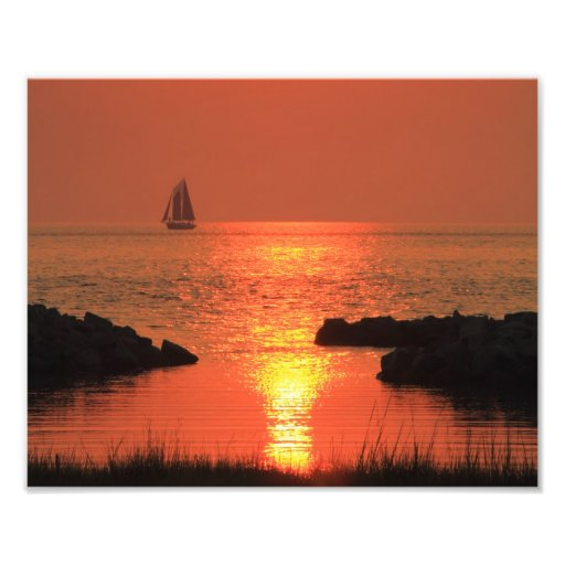 Evening Sail Photographic Print