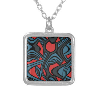 Evening Silver Plated Necklace