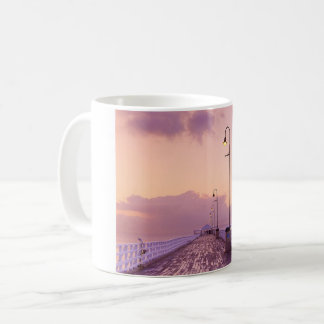 evening spot print on mug. coffee mug