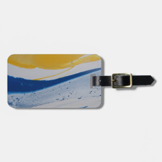 Evening Tide Luggage Tag