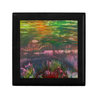 Evening unfurls over landscape gift box