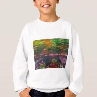 Evening unfurls over landscape sweatshirt