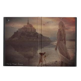 Evening walk on the beach powis iPad air 2 case