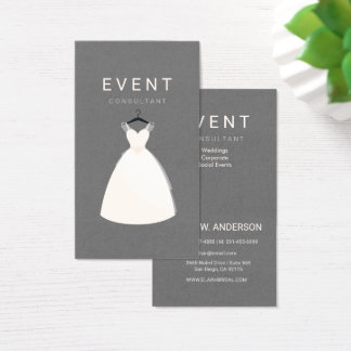 Event Consultant / Bridal and Dress Boutique Business Card