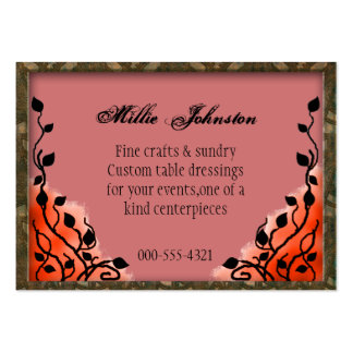 event decorator business card templates