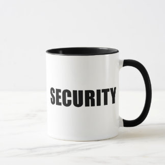 Event Security Crew Mug