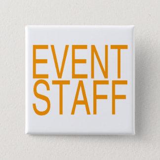 Event Staff 15 Cm Square Badge