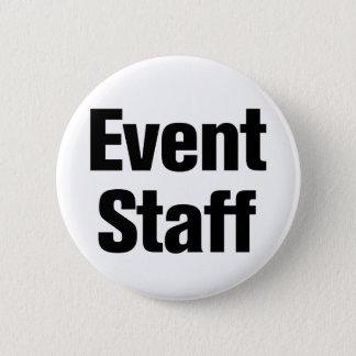 Event Staff 6 Cm Round Badge