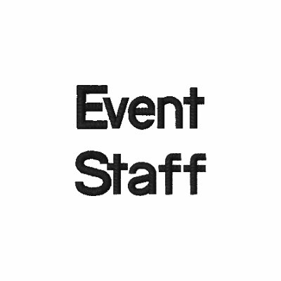 Event staff embroidered polo shirts zazzle for Event staff shirt ideas