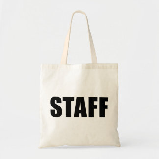 Event Staff Security Crew Gear Tote Bag