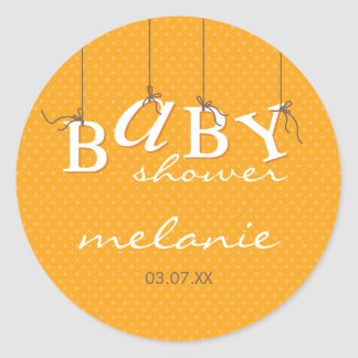EVENT STICKER :: baby letters 1