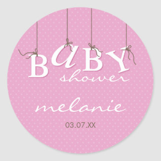 EVENT STICKER :: baby letters 4