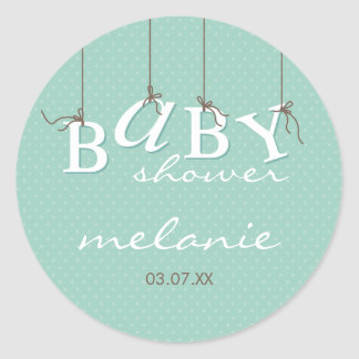 EVENT STICKER :: baby letters 6