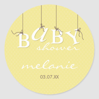 EVENT STICKER :: baby letters 7