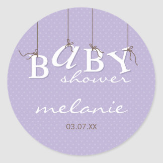 EVENT STICKER :: baby letters 9